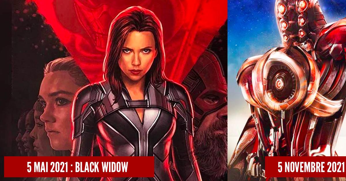 WandaVision : on fait le point sur les dates de sortie des prochains films et séries du MCU - Hitek.fr