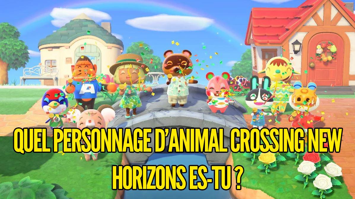 Test de personnalité  quel personnage d'Animal Crossing New ...