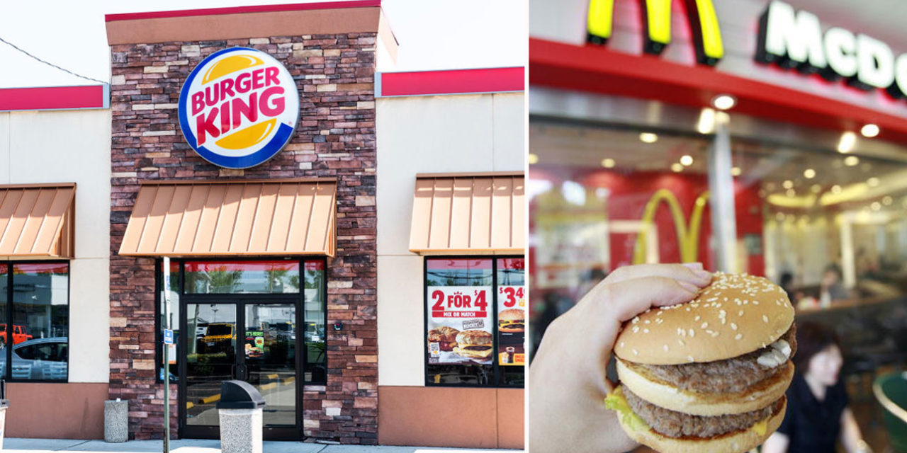 en su de burger king se paye encore mcdonald 39 s avec tout sauf un big mac. Black Bedroom Furniture Sets. Home Design Ideas