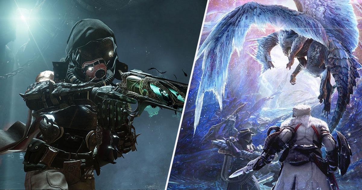 Destiny 2 prendrait la direction de Google Stadia, Monster Hunter