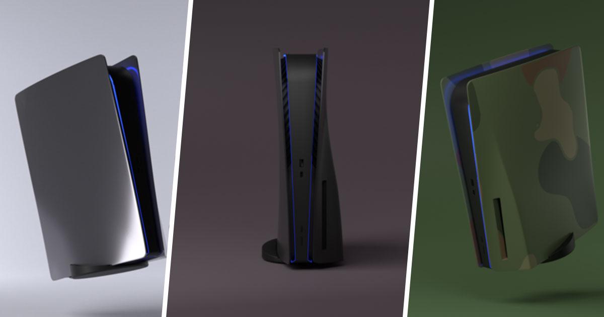 PS5 : vous allez pouvoir choisir la couleur de votre console